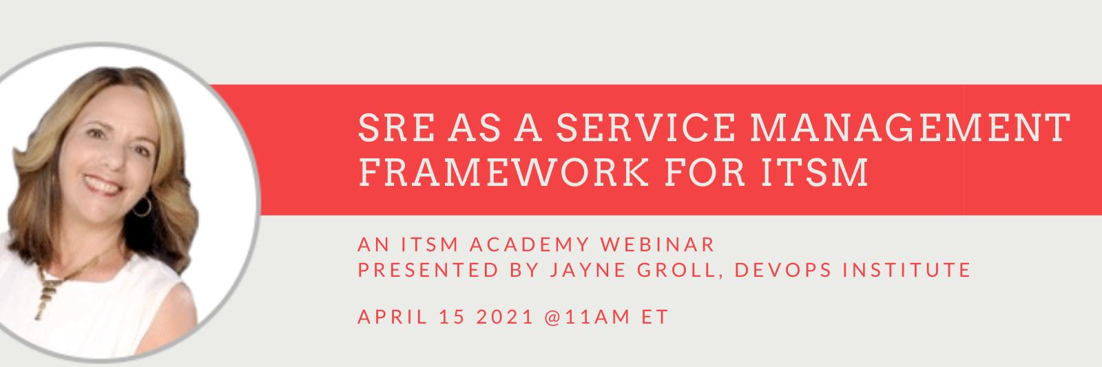 SRE as a Service Management Framework
