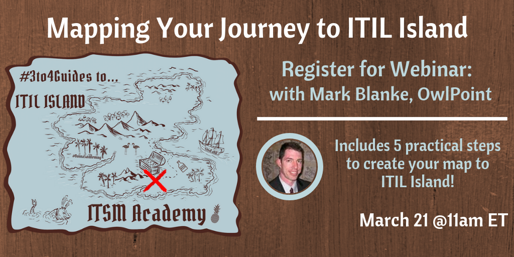 Mapping your Journey to ITIL Island