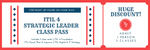 ITIL 4 Strategic Leader Training Pass