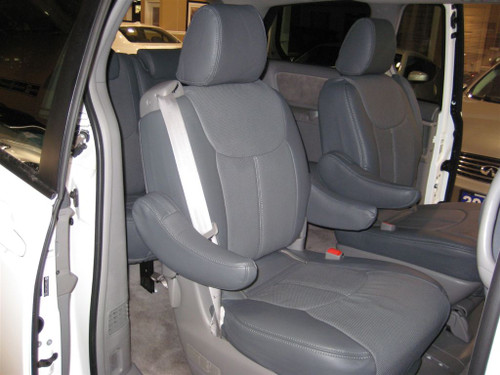 Quest Clazzio Seat Cover All Grey Leather