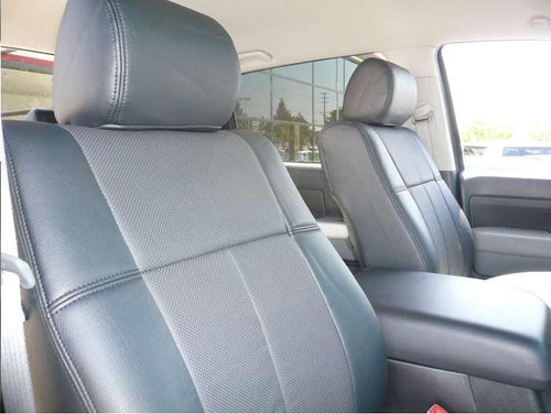 Sequoia Clazzio Seat Cover All Black Leather