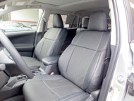 Rav4 Clazzio Seat Covers All Black Front Seats 2