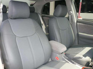 Corolla Clazzio Seat Covers All Grey Front Seats