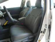 Prius Clazzio Seat Cover Black / Black / Black Leather