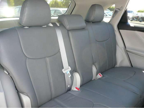 Clazzio 203011blkk Black Leather Front Row Seat Cover for Toyota Venza