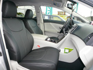 All Black Clazzio Leather Seat Cover