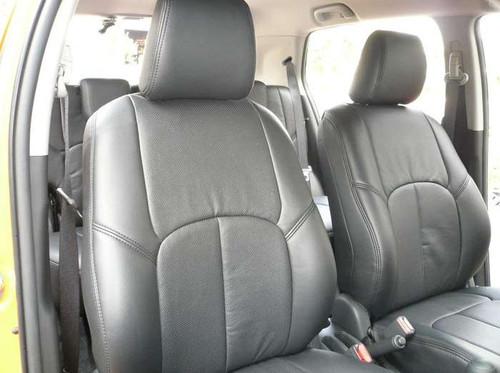 All Black Leather Scion xD Clazzio Seat Cover