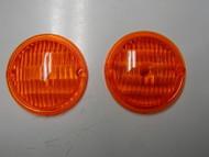 Park light lens 61-67 Dodge D100, D200 and others sold as SET