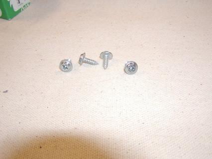 Chrome head door panel screws for the Dodge D100, Dodge D200, Dodge W100, and Dodge W200. These chrome screws attach the door panel to the door Zinc #8 x 1/2 inch