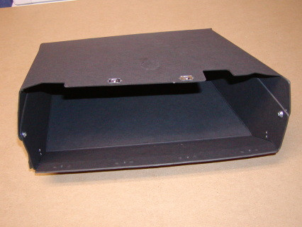 Glove box insert for the 1969-71 Dodge Trucks, and has the option for the glove box light