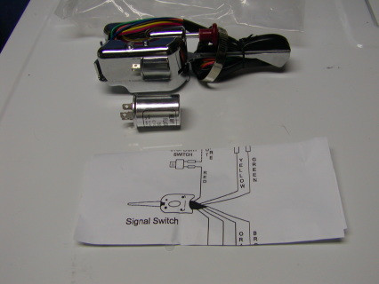 This unit is universal for both 6 Volt and 12 Volt. The 12 Volt system can use the emergency flasher Unit included with the assembly along with instructions