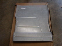 Driver side floor pan without cab dimple and hole, sold as each