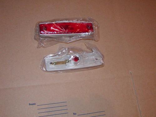 Red side marker lens for 64-70 A100 Vans & 71-77 Dodge Vans