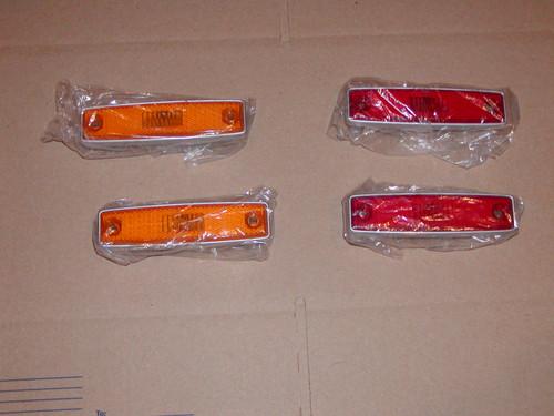 Complete set of side marker lens for 64-70 A100 Vans & 71-77 Dodge Vans