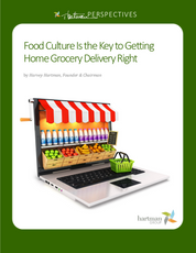 Food culture is key to getting home grocery delivery right