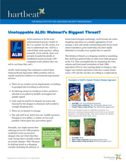 Unstoppable ALDI: Walmart's Biggest Threat?