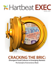Cracking the BRIC: Divergent Food Cultures in Emerging Markets
