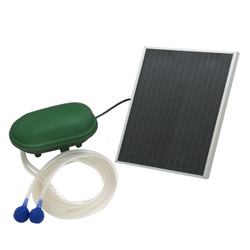 Sunnydaze Air Pump Solar Oxygenator Plus