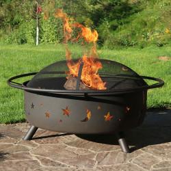 Sunnydaze Large Cosmic Fire Pit
