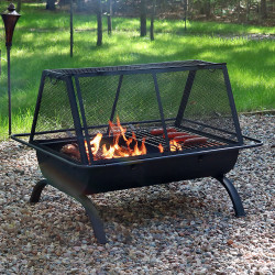 Sunnydaze Northland Grill Fire Pit