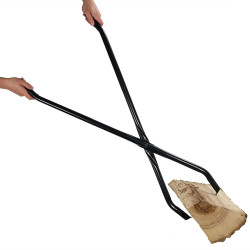 "40"" Log Claw Grabber- Move Fire Wood Easily and Safely in Your Fire Pit or Fireplace"