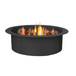Sunnydaze Fire Pit Rim. Make Your Own in Ground Fire Pit