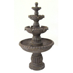 Sunnydaze Mediterranean 4-Tier Water Fountain