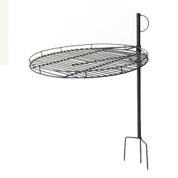 "Sunnydaze  24"" Adjustable Fire Pit Cooking Grate"