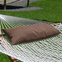 Sunnydaze Hammock Pillow - Walnut