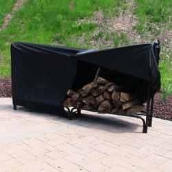 Sunnydaze Heavy Duty 8-Foot Firewood Log Rack Cover