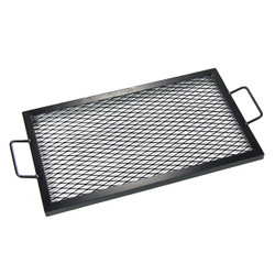 """36"""" Rectangle Fire Pit Cooking Grill"""