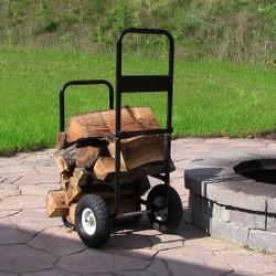 Sunnydaze Firewood Log Cart Only