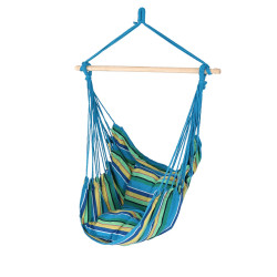 Hanging Hammock Swing by Sunnydaze Decor - Ocean Breeze