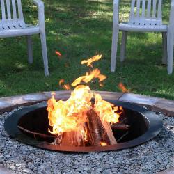"36"" Heavy Duty Fire Pit Rim"