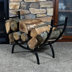 """Sunnydaze 36"""" Curved Firewood Log Rack"""