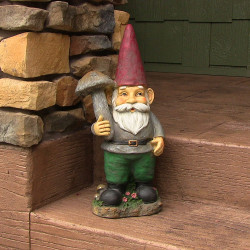 "Marty the Mushroom Gnome, 20"" by Sunnydaze Decor"