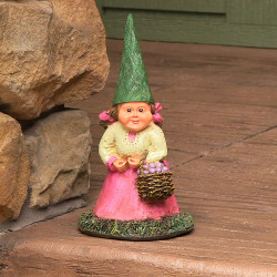 """Isabella the Lady Gnome, 8"""" Tall by Sunnydaze Decor"""