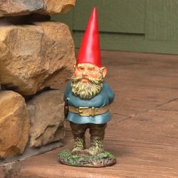 "Gus the original Gnome, 9.5"" Tall by Sunnydaze Decor"