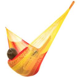 Sunnydaze Double Mayan Hammock - Tequila