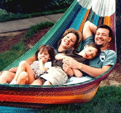Sunnydaze Family Mayan Hammock - MultiColor