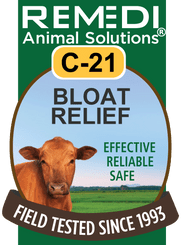 Turbo Bloat Relief for Cattle, C-21