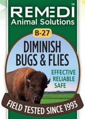 Diminish Bugs & Flies, B-27