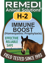 Immune Boost (Homeopathic Prophylaxis) for Horses, H-2