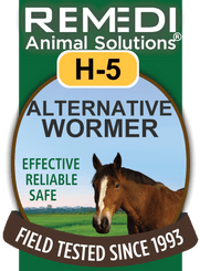 Turbo Alternative Wormer for Horses, H-5