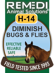 Diminish Bugs & Flies for Horses, H-14