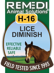 Turbo Lice Diminish for Horses, H-16