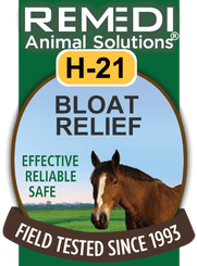 Colic & Bloat Relief for Horses, H-21