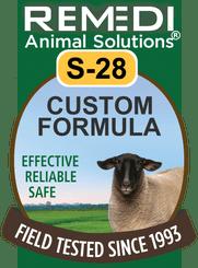 Custom Homeopathic Formula for Sheep