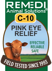Pink Eye Relief for Cattle, C-10