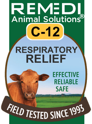 Respiratory Relief for Cattle, C-12